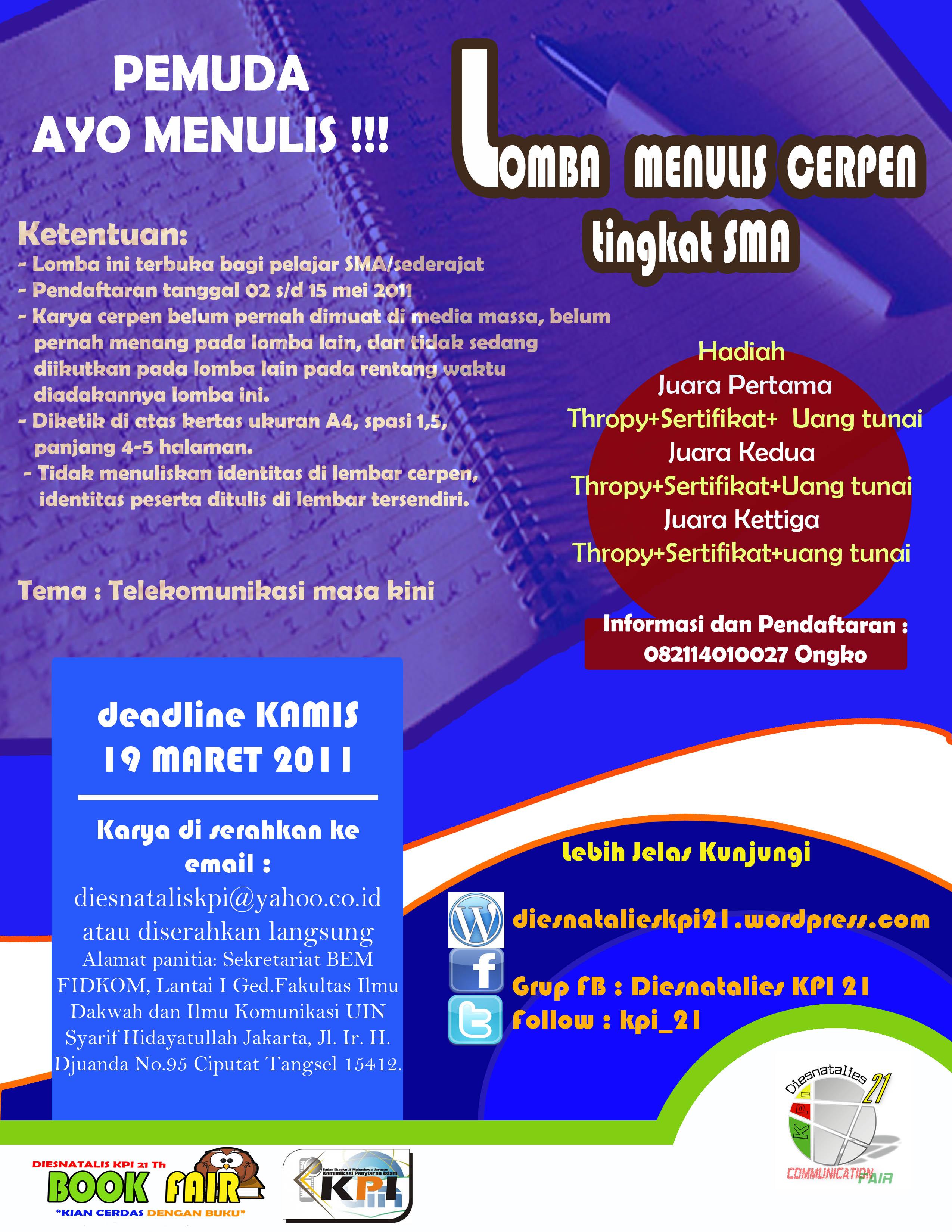 Cerpen 17 Ke Atas Indonesia